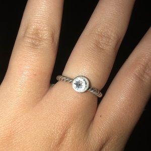 silver brighton ring